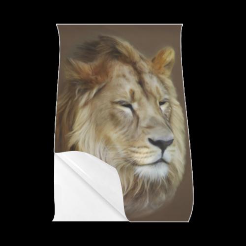 """A magnificent painting Lion portrait Poster 23""""x36"""""""