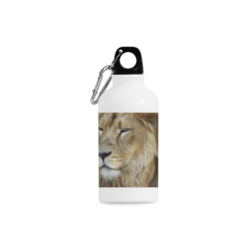 A magnificent painting Lion portrait Cazorla Sports Bottle(13.5OZ)
