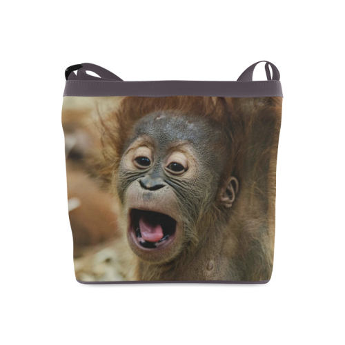 lovely Orang Baby Crossbody Bags (Model 1613)