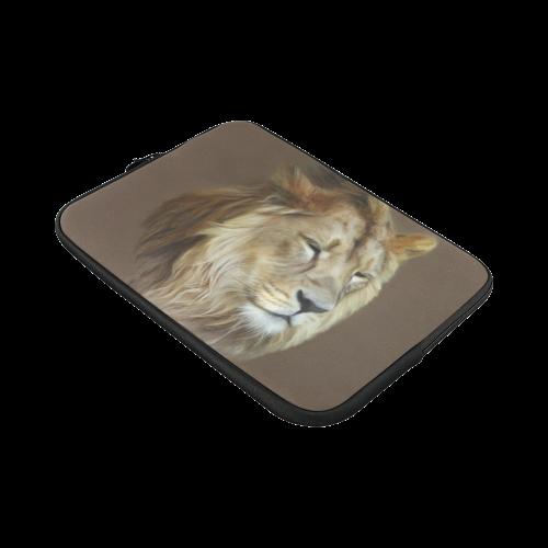 A magnificent painting Lion portrait Macbook Pro 15''