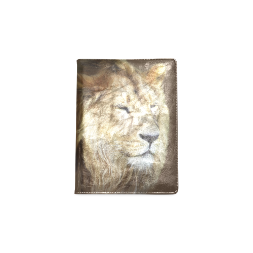 A magnificent painting Lion portrait Custom NoteBook B5