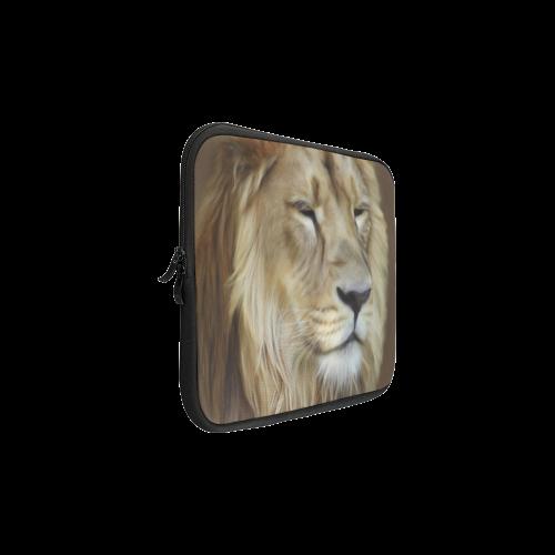 A magnificent painting Lion portrait Laptop Sleeve 11''