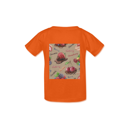 Cake-A-010-10 Kid's  Classic T-shirt (Model T22)
