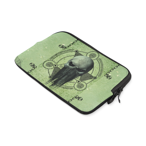 Green skull iPad mini