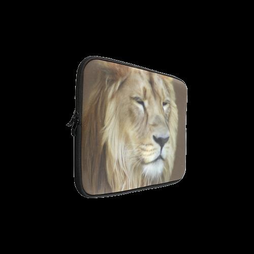 "A magnificent painting Lion portrait Custom Sleeve for Laptop 15.6"""