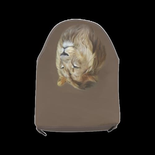 A magnificent painting Lion portrait Crossbody Bag (Model 1631)