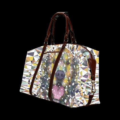 rainbow dog Classic Travel Bag (Model 1643)