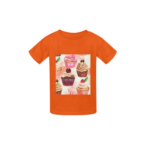 Cake-A-010-10 Kid's  Classic T-shirt (Model T22)