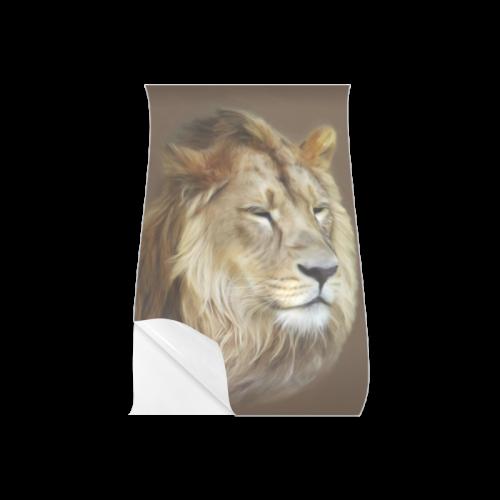 """A magnificent painting Lion portrait Poster 11""""x17"""""""