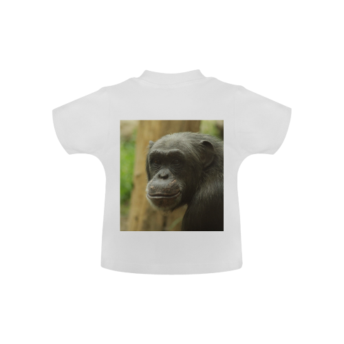 grinning chimp Baby Classic T-Shirt (Model T30)