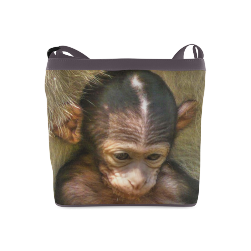 sweet baby monkey Crossbody Bags (Model 1613)