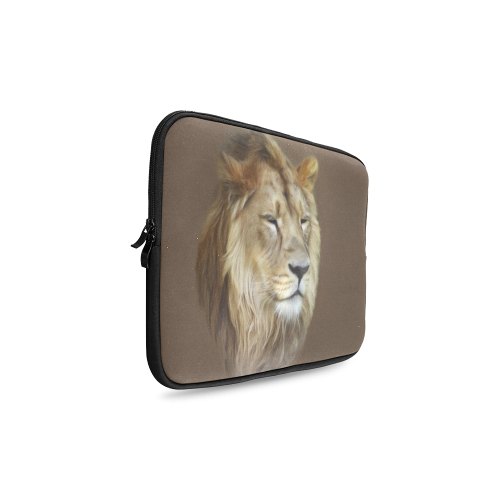 A magnificent painting Lion portrait Custom Laptop Sleeve 14''