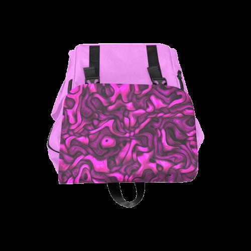 tangled pink Casual Shoulders Backpack (Model 1623)