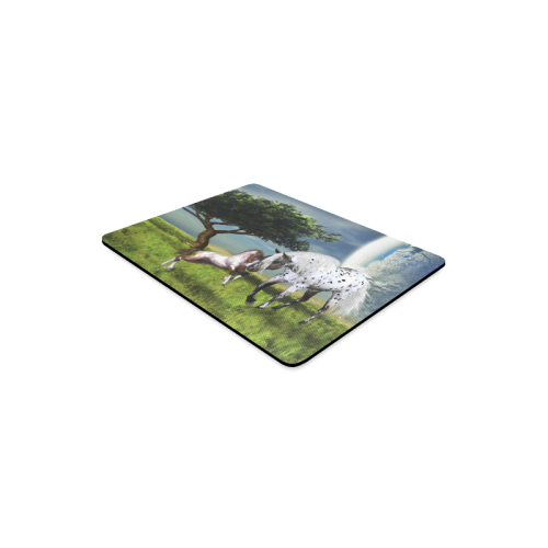 Horses Love Forever Rectangle Mousepad