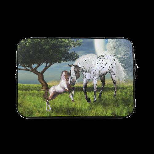 """Horses Love Forever Custom Sleeve for Laptop 17"""""""