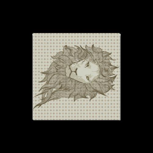 """Lion Canvas Print 16""""x16"""""""
