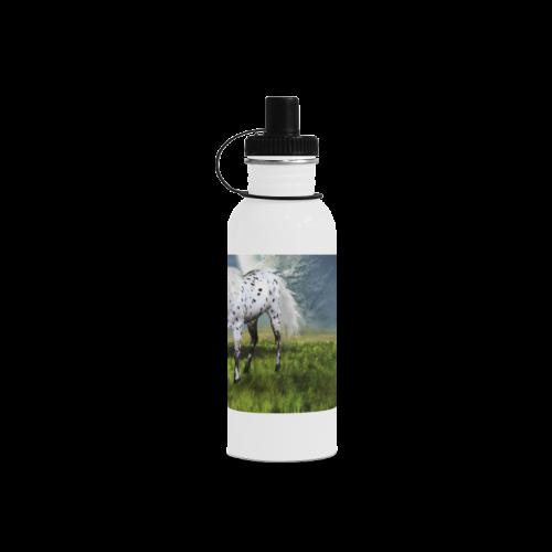 Horses Love Forever Manchester Sports Bottle(22OZ)