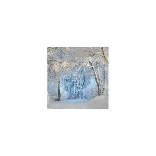 """another winter wonderland Square Towel 13""""x13"""""""
