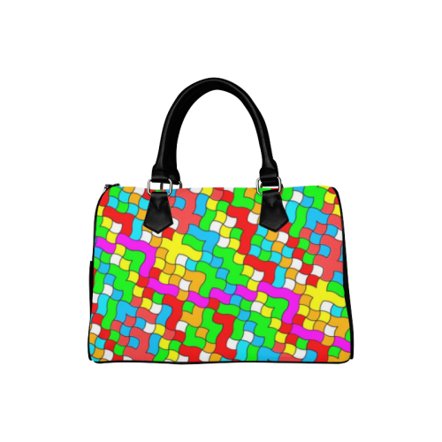 school party colorful Boston Handbag (Model 1621)