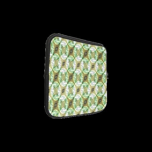 Mandy Green - light dark bubbles Laptop Sleeve 11''