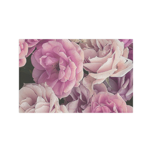 """great garden roses pink Poster 11""""x17"""""""