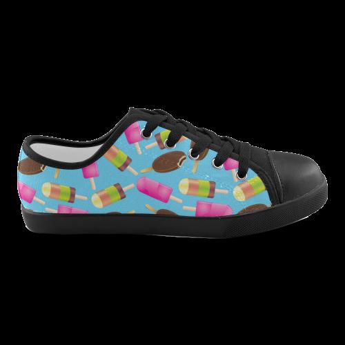 icecream Canvas Kid's Shoes (Model 016)