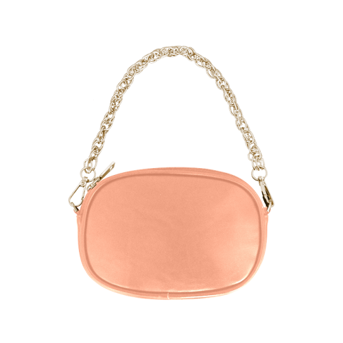 Textured retro shapes Chain Purse (Model 1626)
