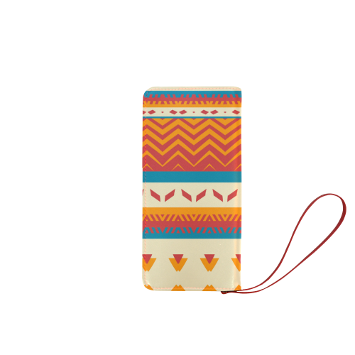 Tribal shapes Women's Clutch Wallet (Model 1637)