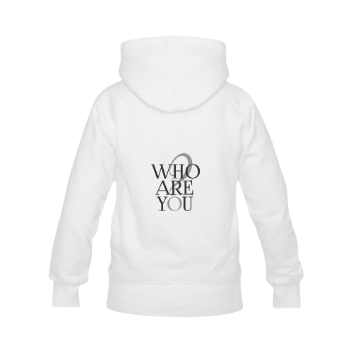 Who are you? Women's Classic Hoodies (Model H07)