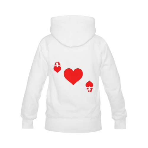 Ace of Hearts Men's Classic Hoodies (Model H10)