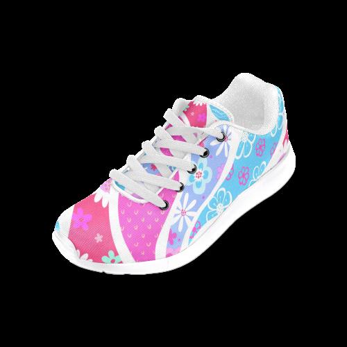 Paisley Drops Women's Running Shoes (Model 020)