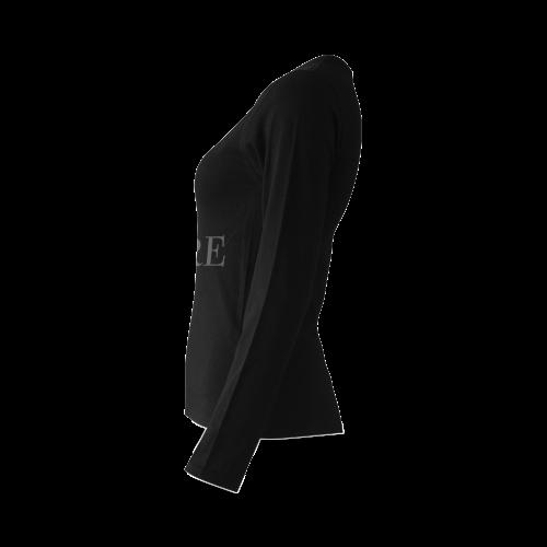 Where? Black Sunny Women's T-shirt (long-sleeve)
