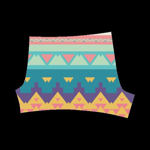 Pastel tribal design Briseis Skinny Shorts (Model L04)