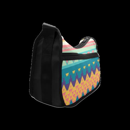 Pastel tribal design Crossbody Bags (Model 1616)