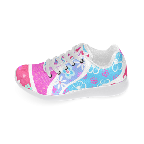 Paisley Drops Women's Running Shoes (Model 020)