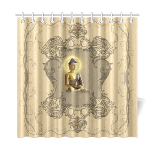 The Buddha Shower Curtain