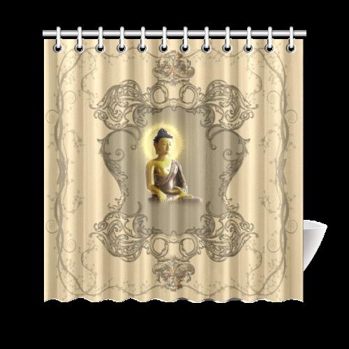 The Buddha Shower Curtain