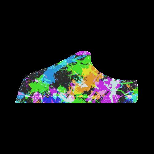 PAINT SPLASH Men's Chukka Canvas Shoes (Model 003)