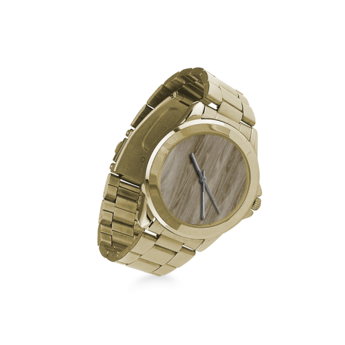 wooden structure 3 Custom Gilt Watch(Model 101)