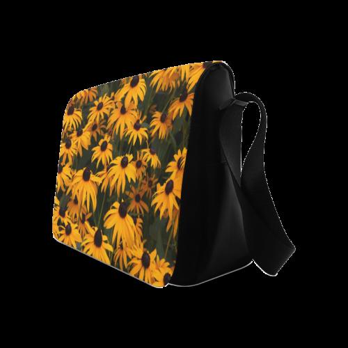 Black-eyed Susans Messenger Bag (Model 1628)