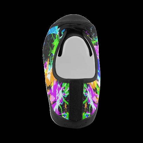 PAINT SPLASH Men's Canvas Shoes (Model 016)