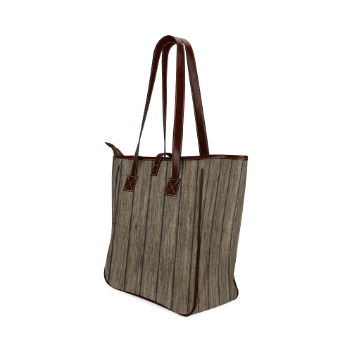wooden planks Classic Tote Bag (Model 1644)