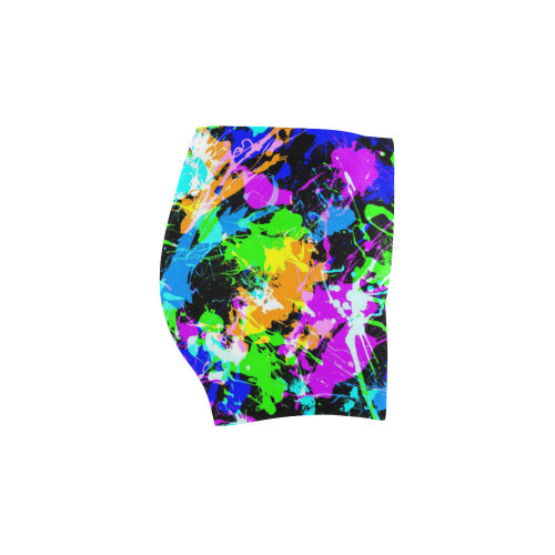 PAINT SPLASH Briseis Skinny Shorts (Model L04)
