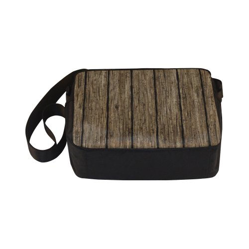 wooden planks Classic Cross-body Nylon Bags (Model 1632)