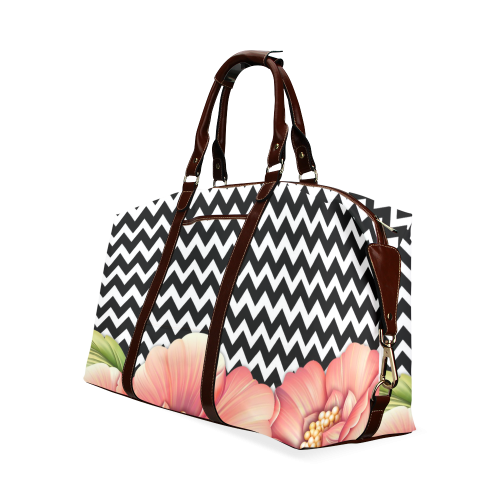 flower power Classic Travel Bag (Model 1643)