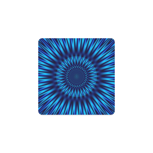 Blue Lagoon Square Coaster