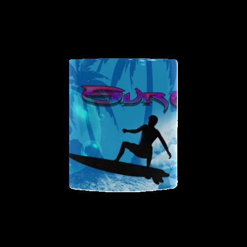 Surfing Custom Morphing Mug