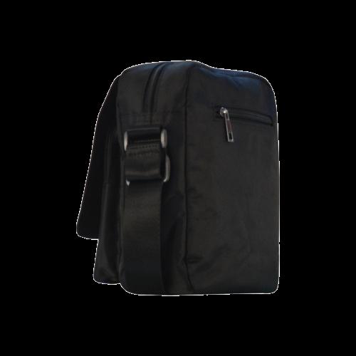 Cogs and Wheels Crossbody Nylon Bags (Model 1633)