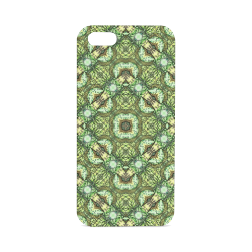 Mandy Green - Fountain Foilage pattern Hard Case for iPhone SE