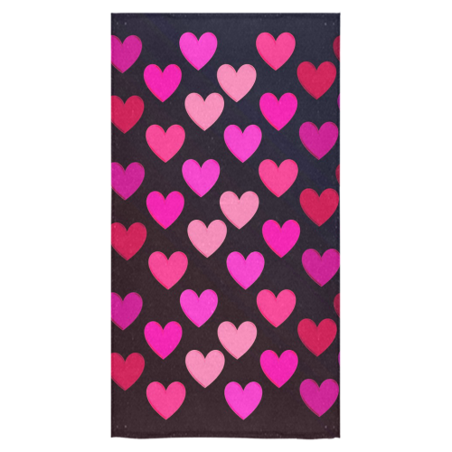 "hearts on fire-2 Bath Towel 30""x56"""